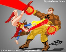 SUPERHAWKE VS NUCLEARNIGHTMARE by 11J