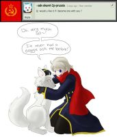 Question 9: Become One with Doggy? Da~! by Ask-Soviet-Russia