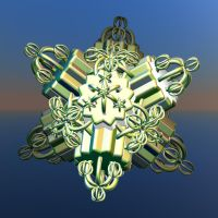 big metallic snowflake by Andrea1981G
