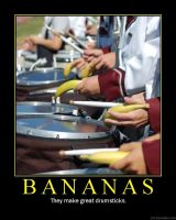 Our Drumline is Bananas by featherbrained-flute