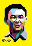 Ahok in WPAP by cuboxstudio