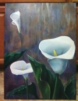 Calla Lillies by BrittneyWest