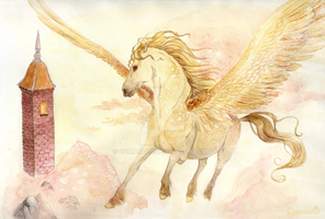 Secret of the Golden Pegasus by Comacold