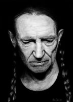 Willie Nelson by JohnJohn-the-Baptist