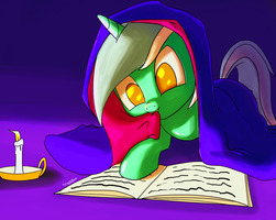 Candlelight Reading by 1n33d4hug