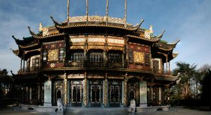 Pavillon Chinois panoramique by WouldYouEraseMe