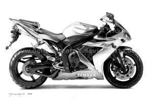 Yamaha R1 by Delitescentrix