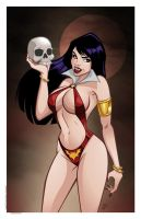 Vampirella by PatrickFinch