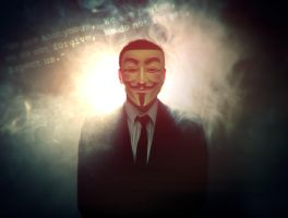 Anonymous - We are Legion by MuuseDesign