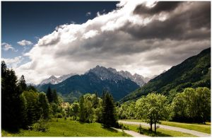 lord gave us mountains II by zero-