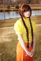 Sheeta Cosplay Laputa: Castle in the Sky by HatterSisters