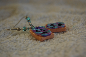 Pop Tart Earrings by Jiel