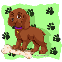 Animal - Cocker Spaniel Puppy by DaphInteresting