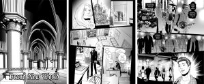 commission: Date A Vampire.com Manga pages by MathiaArkoniel