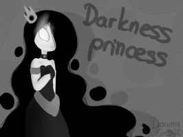 Darkness princess by Drawing-Heart