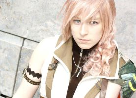 Lightning Cosplay - Right into your eyes by Kawaii-Kioko