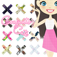 Conjunto Cute - EeUu01 by EeUu01