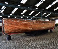 Wooden Boat by FrankAndCarySTOCK