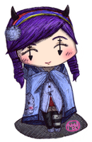 Colored Chibi Sketchy 83 by Mellonychan