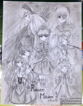 Rozen Maiden by Metyuu