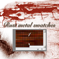 rust metal swatches1 by feniksas4