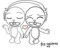 HTF base -music love- by ValeeNS