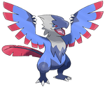 Contest Price 2: Wyvern Fakemon by LuisBrain
