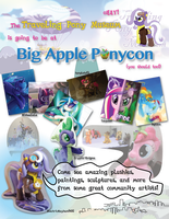 Travelling Pony Museum Bap Flyer 2013 By Mewtwo Ex by InkyNotebook
