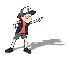 Angry Dipper by Leafshinobi7