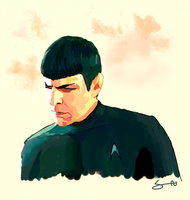Spock's Hesitation by santi-yo