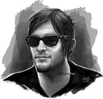 Norman Reedus by JuliaFox90