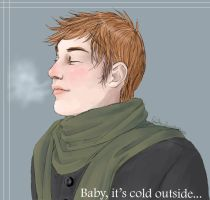 Baby, it's cold outside... by loofah-lise
