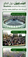Muslims around the world by ikale