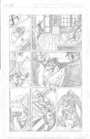 Thor Page 7 Pencils by Theamat