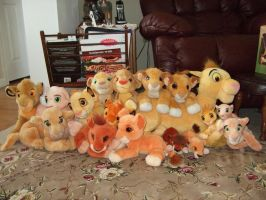 Lion King Plush Collection by Itachislilgirl