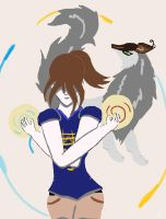 Spirit of the Wolf: The Powers of Julia by animedugan