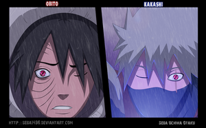 Obito And Kakashi by seba1496