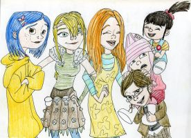 Non-Disney girls by DitaDiPolvere