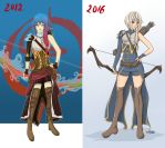Archer [2012-2016 comparative] by CainDream