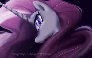 Nightmare Rarity by FEuJenny07