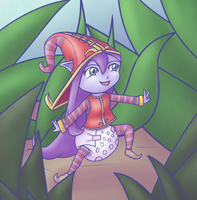 The Padded Fae Sorceress by Hira-Dontell