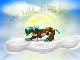 xX I can walk in the sky Xx by Hikari-Liberty