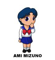 #032: Ami Mizuno by TinySailorMoon