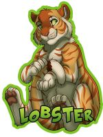 Lobster Badge by Ifus