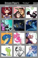 2013 Art Summary: Flow by Dream-Piper