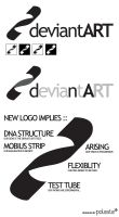 deviantART Logo Design NO.1 by polasta