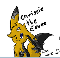 Chrissie in Iscribble by TwilightTheEevee