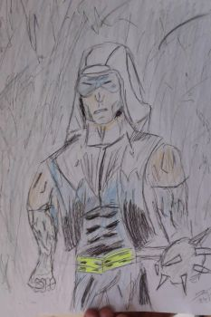 Captain Cold Sketch by Karantheartist