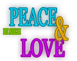 PEACE AND LOVE by DDLoveEditions