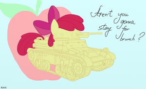 Applebloom - M2 Light Tank by AlVchFokarev